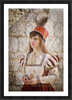 Polish Girl Picture Frame print