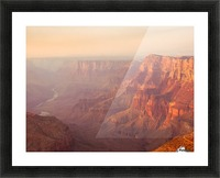Red Canyon Picture Frame print