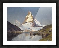 The Matterhorn Picture Frame print