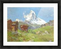Matterhorn seen from Winkelmatten Picture Frame print
