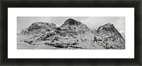 The Three Sisters, Glencoe Picture Frame print