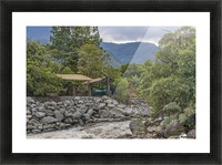 Pastaza River and Leafy Mountains Ecuador copia Picture Frame print