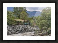 Pastaza River and Leafy Mountains Ecuador copia Picture Frame print