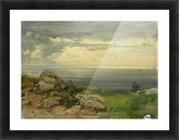 Landscape in Taormina, Sicily Picture Frame print
