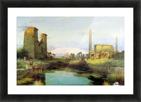 The Temple of Karnak 1911 Picture Frame print