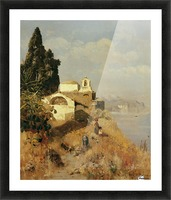 On Ischia in Casamicciola Picture Frame print