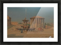 Roma, August 1877 Picture Frame print