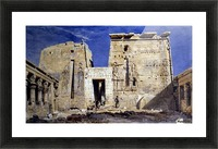 Temple of Isis at Philae Picture Frame print