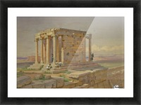 The Temple of Athena Nike Picture Frame print