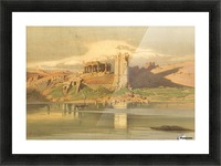 The Temple Ruins of Kum-Ombo, Egypt Picture Frame print