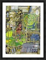 Golfmaskin - The golf machine Picture Frame print