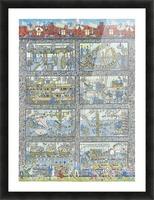 Boccakulefabrikk - The bocca factory Picture Frame print