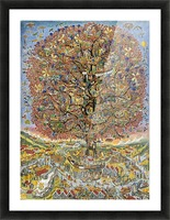 Treet - The tree Picture Frame print