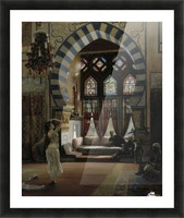 Almee, an Egyptian Dancer Picture Frame print