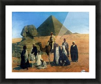 In search of the Pharaohs Picture Frame print