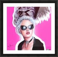 Marie Antoinette inspired art Picture Frame print