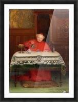 Der Kardinal Picture Frame print