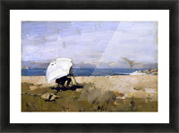 Hard at it by Guthrie Picture Frame print