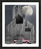 Evening at the Barn Picture Frame print