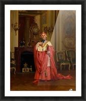 The red portfolio Picture Frame print