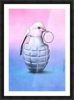 Peace  -  Pawel Kuczynski Picture Frame print