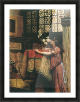 In my studio by Alma-Tadema Picture Frame print