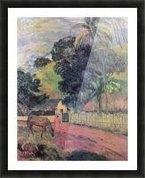 Landscape by Gauguin Picture Frame print
