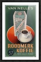 Vintage poster for Van Nelle Roodmerk Koffie Picture Frame print
