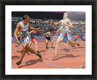 Athletics_04 Picture Frame print