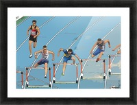 Athletics_13 Picture Frame print