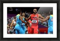 Athletics_33 Picture Frame print