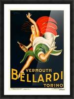 Vermouth Bellardi Torino Picture Frame print