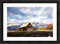 Mormon Row   Jackson Hole Picture Frame print