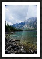 Jenny Lake   Jackson Hole Picture Frame print