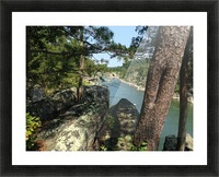 View of the Potomac at Great Falls Picture Frame print