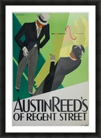 Austin Reed of Regent Street poster Picture Frame print