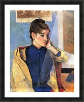 Madeleine Bernard by Gauguin Picture Frame print