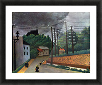 Malakoff by Henri Rousseau Picture Frame print
