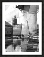 Schiedam - 11-08-16 Picture Frame print