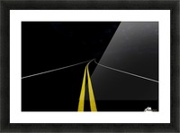 The Road to Nowhere Picture Frame print