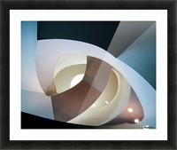 Top light Picture Frame print