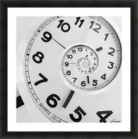 Time Picture Frame print