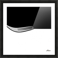 Minimal Abstraction Picture Frame print