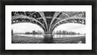 Under The Iron Bridge Picture Frame print