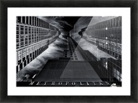 M E T R O P O L I T A N Picture Frame print