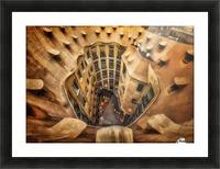 Casa MilA, La Pedrera, Barcelona. Picture Frame print