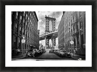 In America Picture Frame print