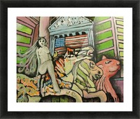Occupy Wall Street Picture Frame print