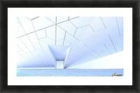 side entrance Picture Frame print