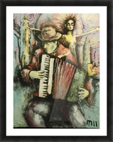 Finnish Tango in Brooklyn Picture Frame print